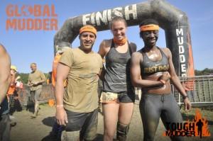 Tough Mudder finish line 2014